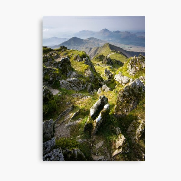 Snowdonia- View from Snowdon 2 Canvas Print