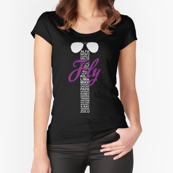 Fly Fitted Scoop T-Shirt