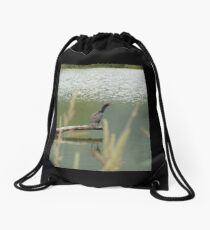 Double Crested Cormorant #2 Drawstring Bag