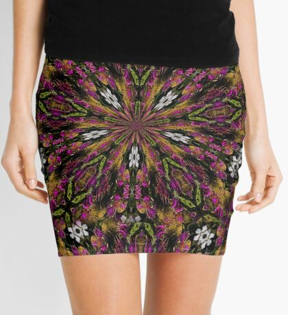 Abstract Colors And Shapes Design Mini Skirt