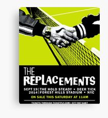 The Replacements Forest Hills show Canvas Print