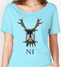 Knight of Ni  Women's Relaxed Fit T-Shirt