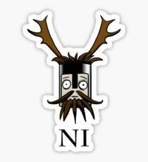 Knight of Ni  Sticker