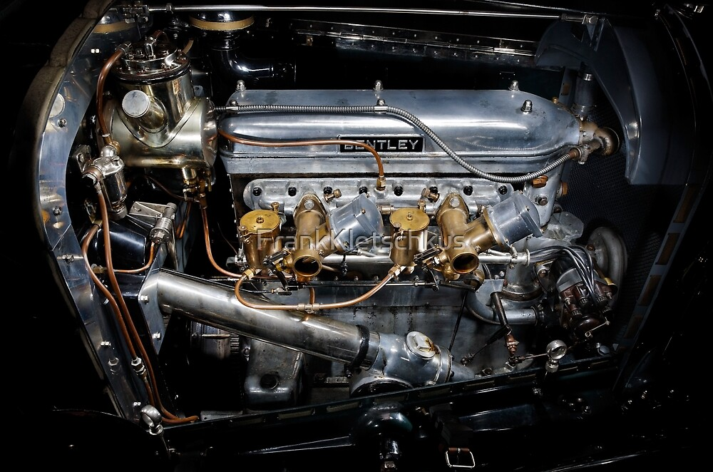 4.5 Litre Bentley Engine by FrankKletschkus