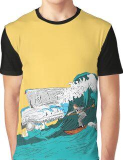 Pedestrian Surfer Graphic T-Shirt