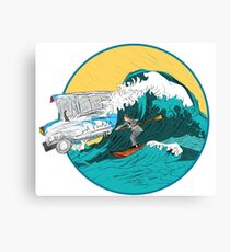 Pedestrian Surfer Canvas Print