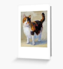 Sweet Calico Greeting Card