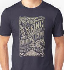 BB King Hollywood Bowl Vintage Concert Poster Unisex T-Shirt