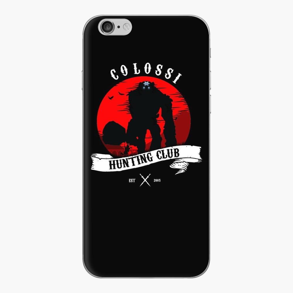 Colossi Hunting Club Vinilo para iPhone