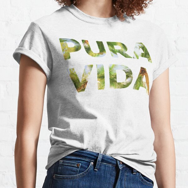Pura Vida Costa Rica Palm Trees Classic T-Shirt