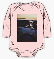 Merewether Rockpools with view to Bar Beach One Piece - Long Sleeve