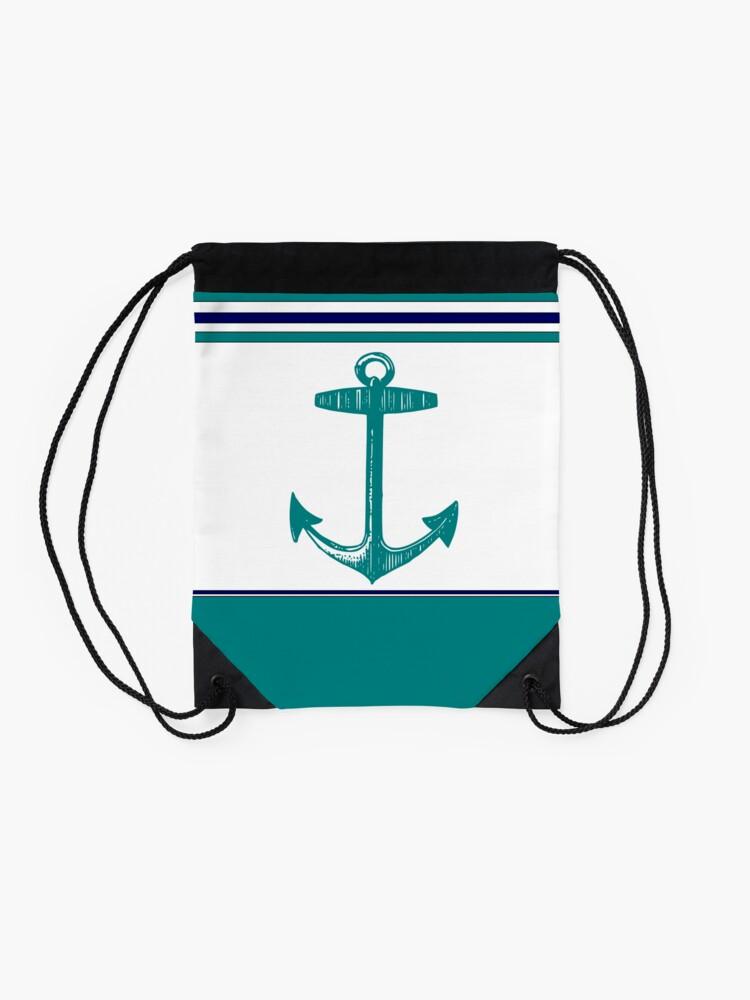Alternate view of Anchor Drawstring Bag
