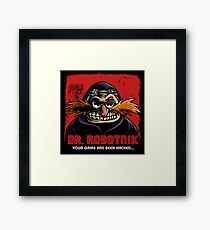 Mr Robotnik Framed Print