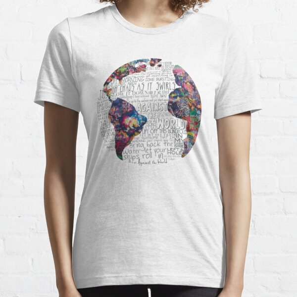 Us Against The World T-shirt essentiel