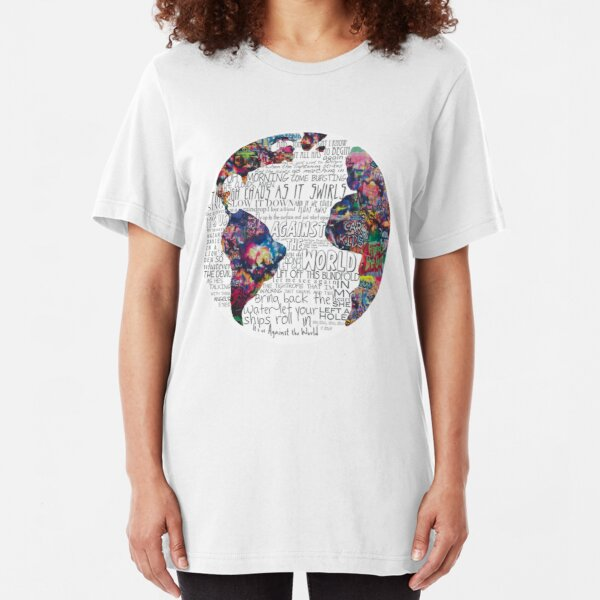 Us Against The World Slim Fit T-Shirt