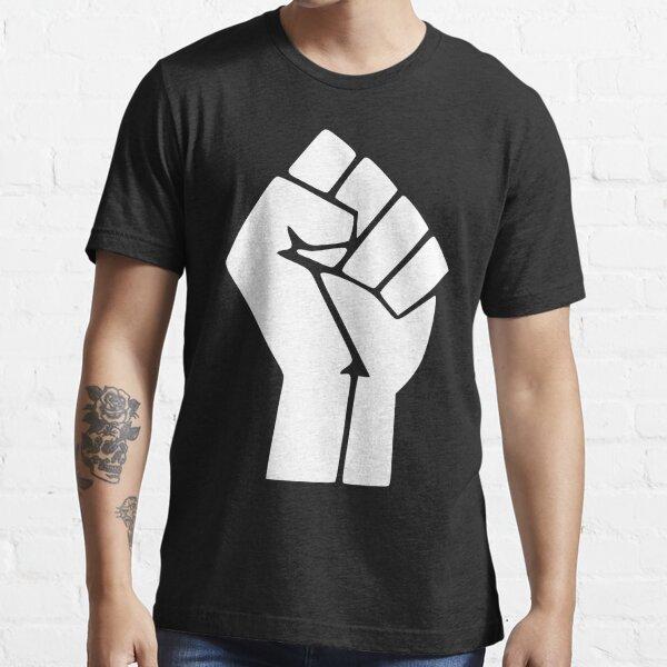 Schwarz lebt Materie Logo Essential T-Shirt