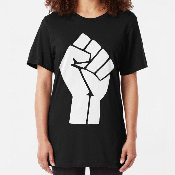 Black Lives Matter Logo Slim Fit T-Shirt