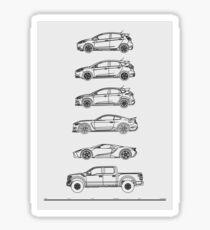 ST/ST/RS/GT350R/GT/F-150 Sticker