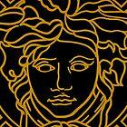 Versace golden medusa by PawetinX