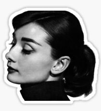 Audrey Profile Sticker