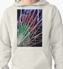 Big Wheel at the Fairground Pullover Hoodie