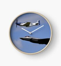 US Air Force Heritage Flight Clock