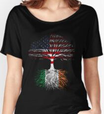 American Grown, Irish Roots Women's Relaxed Fit T-Shirt