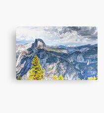 Half Dome from Glacier Point, Yosemite National Park, CA Canvas Print