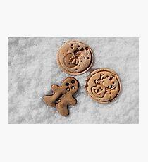 Xmass cookies Photographic Print