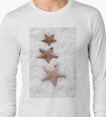 Christmas stars cookies Long Sleeve T-Shirt