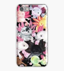The Axolotls iPhone Case/Skin