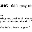 Beeb magnet - Dictionary entry by Bmused55