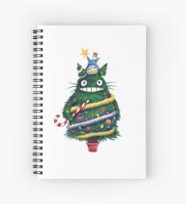 Totoro Weihnachten Spiralblock