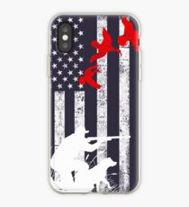 Duck hunting flag  iPhone Case