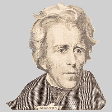 Portrait of Andrew Jackson by KWJphotoart