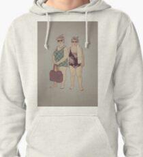 Beach Ladies Pullover Hoodie