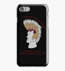 Touching Indians iPhone Case/Skin