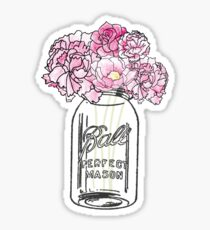 Mason Jar  Sticker