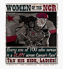 Women of The NCR Photographic Print
