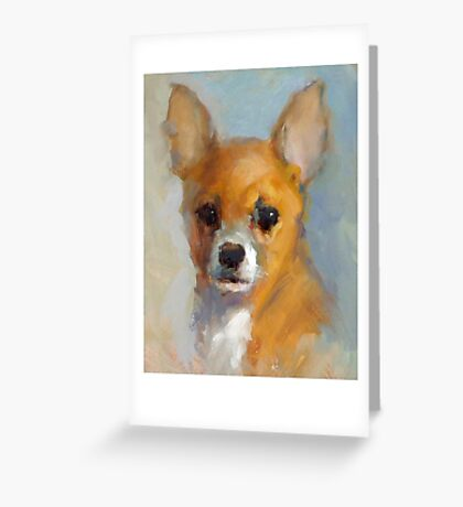 Love Chihuahuas! Greeting Card