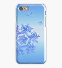 Fractal Snowflake Snowstorm iPhone Case/Skin