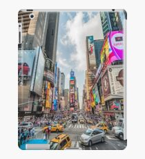 Times Square Traffic iPad Case/Skin