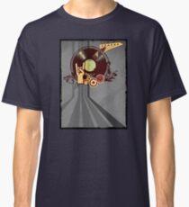 Rock Music Vinyl Record Collage 1 Classic T-Shirt