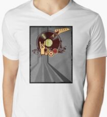 Rock Music Vinyl Record Collage 1 T-Shirt
