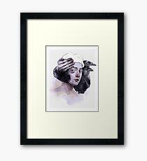 Supremum vale Framed Print