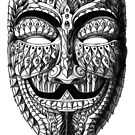 Ornate Anonymous Mask by BioWorkZ