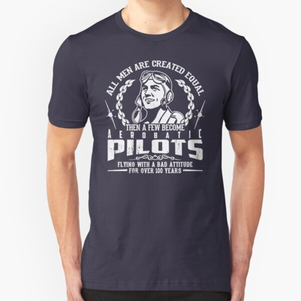 Aerobatic Pilot Slim Fit T-Shirt
