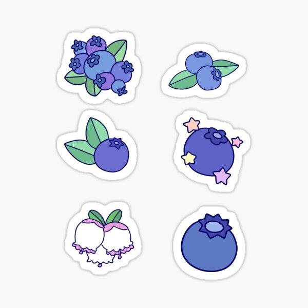 Blueberries! Sticker