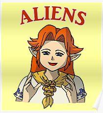 Romani Aliens Poster