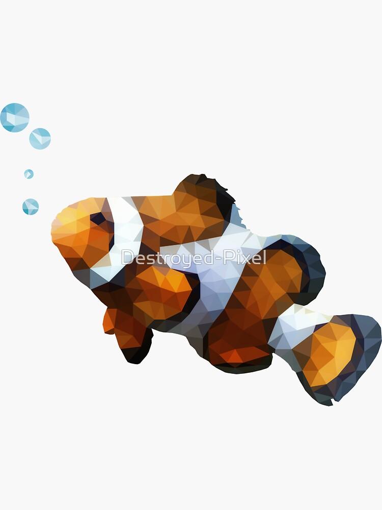 LowPoly Clownfish von Destroyed-Pixel